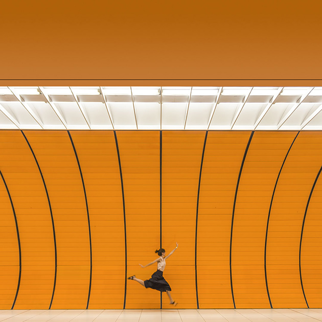 Daniel Rueda - subway Art Photography
