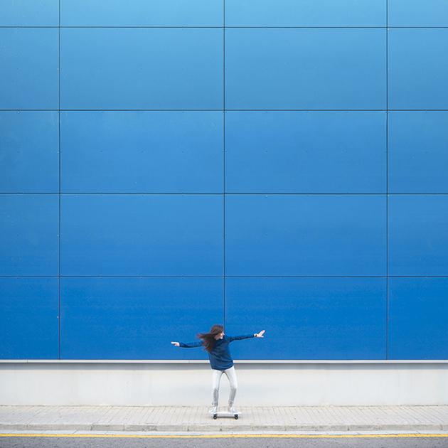 Daniel Rueda - Skateboard Art Photography