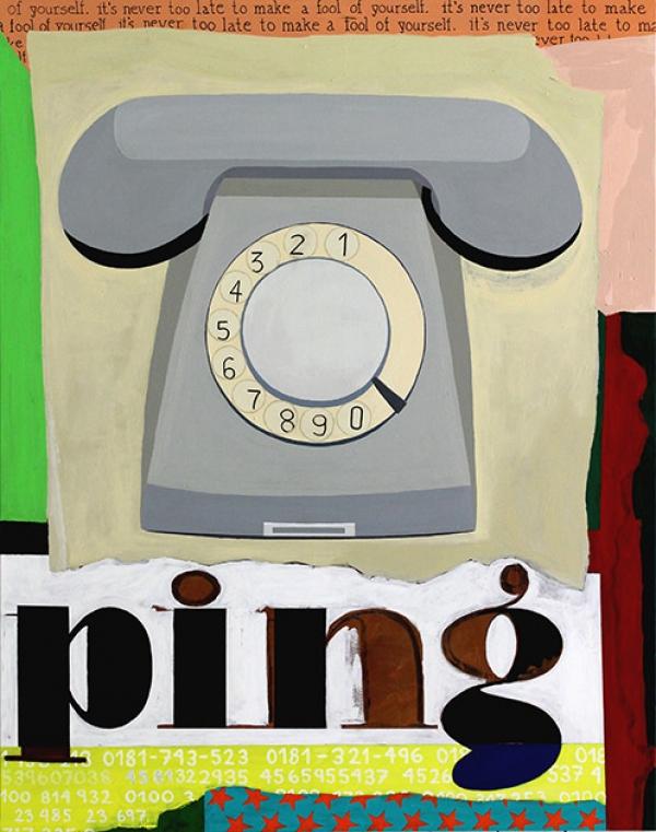 Jonna Pedersen Painting Art - ping