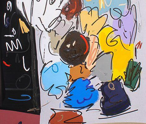 Jonni Cheatwood Art - Everyday Michael
