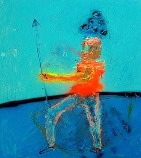 Emanuele Tozzoli Painting - Battaglia di carta