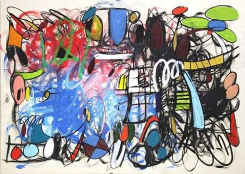 Taher Jaoui Original Painting