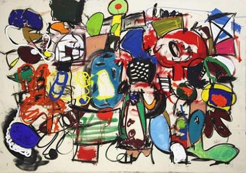 Taher Jaoui Painting- Mama