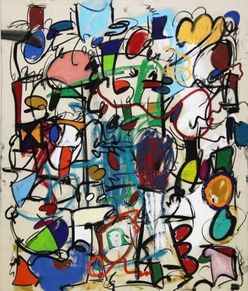 Taher Jaoui Artwork - Afraid to fall