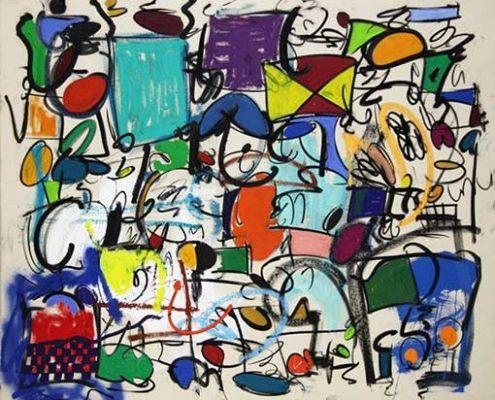 Taher Jaoui Artwork - I found freedom