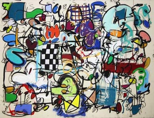 Taher Jaoui Artwork - Heaven's doors