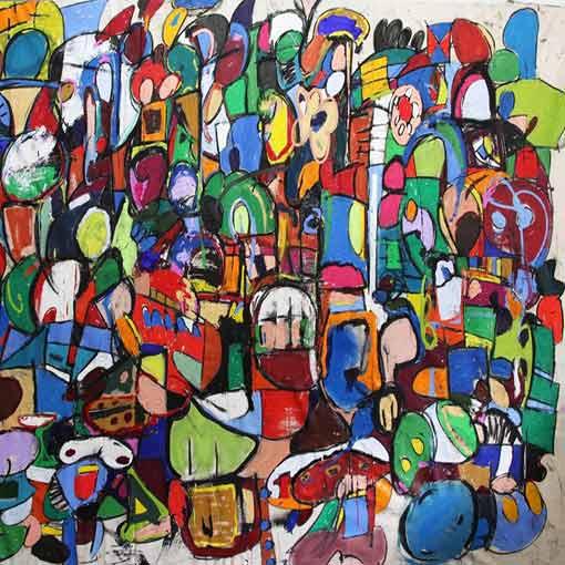 Taher Jaoui Painting
