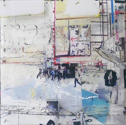 Gregory Watin artwork - JAPAN street PUB