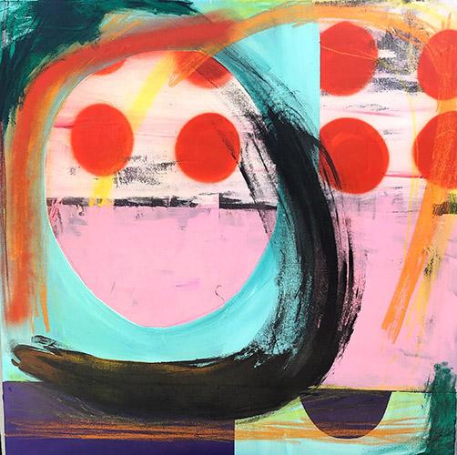 Sarah Svetlana Artwork - Painting