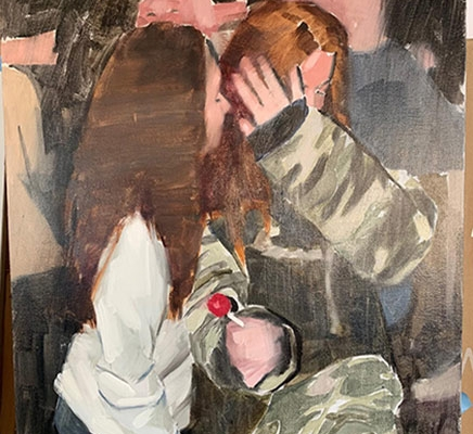 Painting Artwork by Mark Tennant